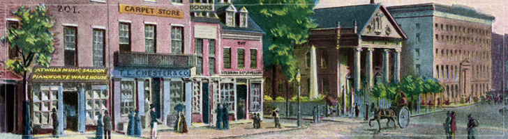 Broadway, NYC, 1843